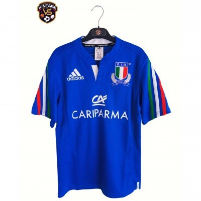 """Italy Rugby Home Shirt 2014-2015 (S) """"Very Good"""""""