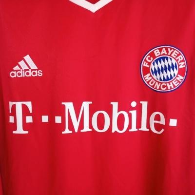 "Bayern Munich L/S Home Shirt 2003-2004 (XL) ""Very Good"""