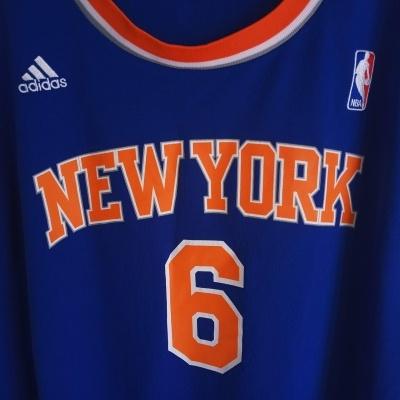 """New York Knicks NBA Jersey #6 Chandler (XL) """"Perfect"""""""