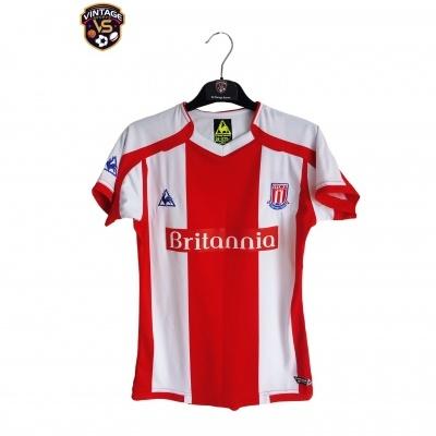 "Stoke City FC Home Shirt 2008-2009 (Womens) ""Perfect"""