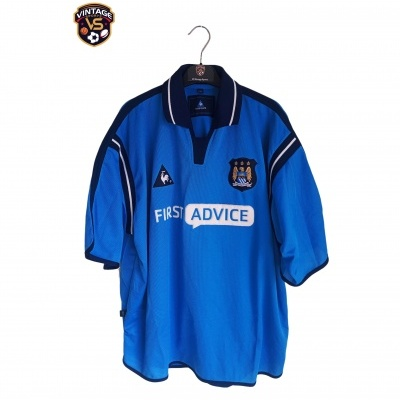 """Manchester City Home Shirt 2002-2003 (XL) """"Very Good"""""""