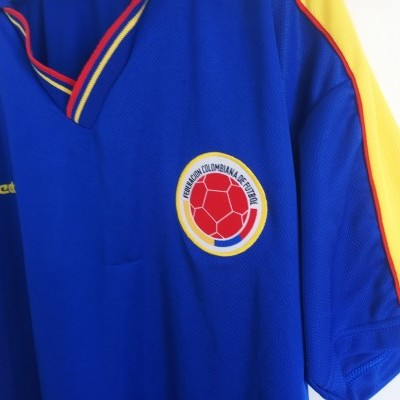 """Colombia Away Shirt 1998-2001 (S) """"Good"""""""