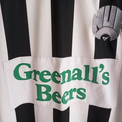 "Retro Newcastle United Home Shirt 1985-1987 (M) ""Very Good"""
