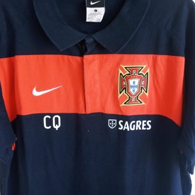 "Portugal Issue Football Polo Shirt 2010 (L) ""Very Good"""