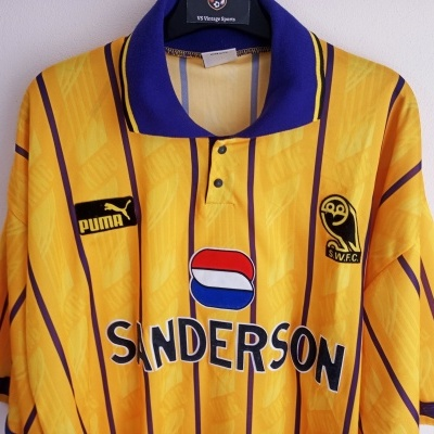 "Sheffield Wednesday Third Shirt 1994-1995 (XL) ""Very Good"""