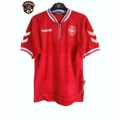 "Denmark Home Shirt 2000-2002 (S) ""Good"""
