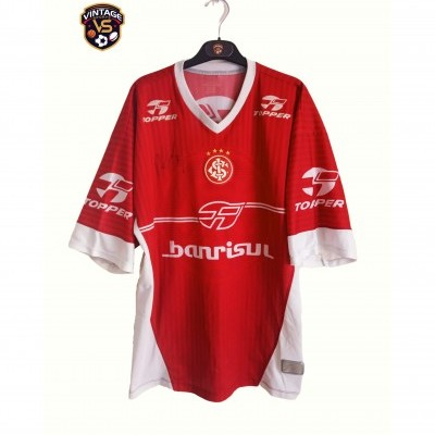 """Signed SC Internacional Porto Alegre Training Shirt 2003 (XL) """"Good"""""""