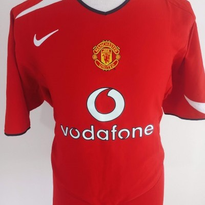 "Manchester United Home Shirt 2004-2005 (XXL) ""Very Good"""