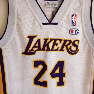 """LA Los Angeles Lakers NBA Jersey #24 Bryant (M Youths) """"Very Good"""""""