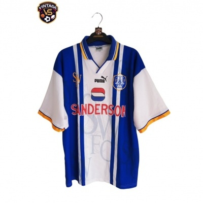 "Sheffield Wednesday Home Shirt 1995-1997 (L) ""Very Good"""