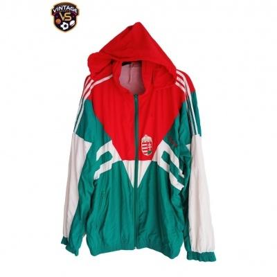 "Hungary National Team Football Jacket 1990s (XL) ""Very Good"""