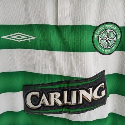 """Celtic FC Centenary Home Shirt 2003-2004 (M) """"Good"""""""