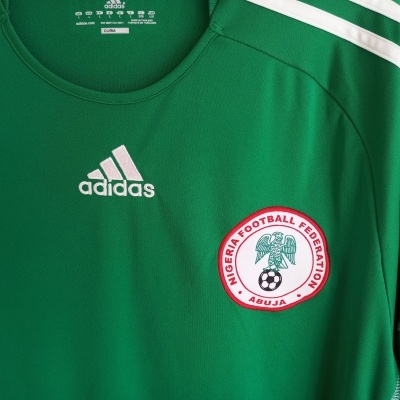 "Nigeria Home Shirt 2010-2011 (L) ""Perfect"""