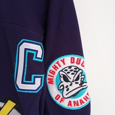 NEW Anaheim Mighty Ducks Ice Hockey NHL Jersey #9 Kariya (54)