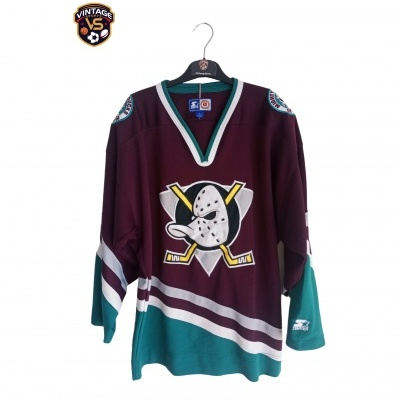 "Anaheim Mighty Ducks Ice Hockey NHL Jersey (L) ""Very Good"""