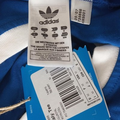 New Italy Tee Shirt Adidas Originals 1978 (M)