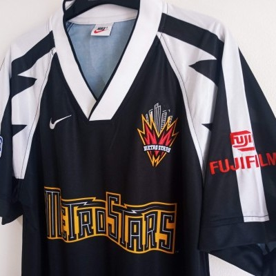 "New York Metrostars Home Issue Shirt 1996 (M) ""Perfect"""