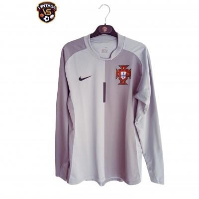 """Matchworn Portugal Goalkeeper Shirt 2006-2008 #1 (S) """"Very Good"""""""