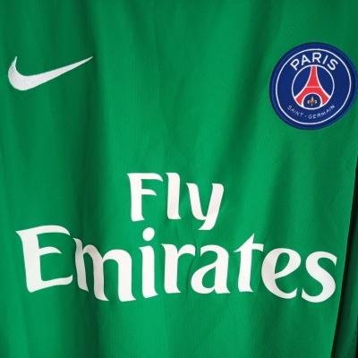 NEW Paris SG PSG Goalkeeper Shirt Player Issue 2015-2016 (XL)