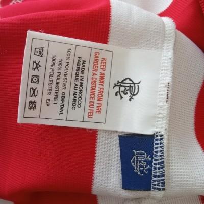 "Glasgow Rangers FC Away Shirt 2003-2004 (XL) ""Perfect"""