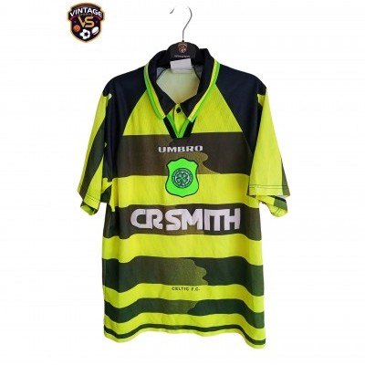 "Celtic Glasgow FC Away Shirt 1996-1997 (L) ""Good"""