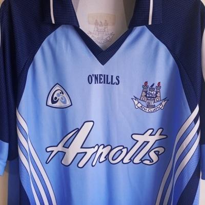 "Dublin GAA Gaelic Home Shirt Jersey 2007-2008 (XL) ""Very Good"""