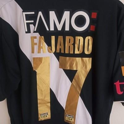 "Matchworn Vitoria Guimarães Away Shirt 2007 #17 Fajardo (L) ""Very Good"""