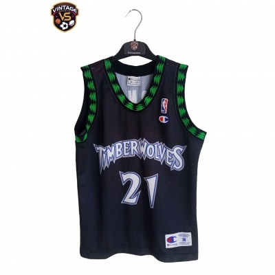 "Minnesota Timberwolves NBA Jersey #21 Garnett (M Youths) ""Good"""