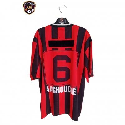 """USM Alger Home Shirt 1997-1998 #6 (XL) """"Very Good"""""""