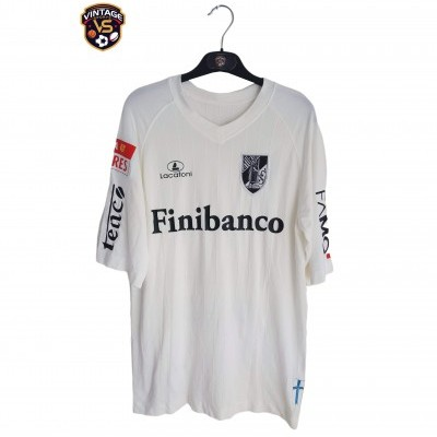 "Matchworn Vitoria Guimarães Home Shirt 2009 #22 Gustavo (XL) ""Good"""