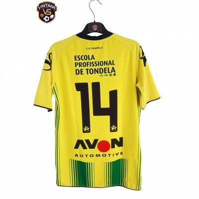 "Matchworn CD Tondela Home Shirt 2014-2015 #14 (L) ""Very Good"""