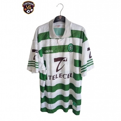 "Sporting CP Home Shirt 1996-1997 (L) ""Very Good"""