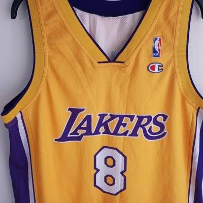 "LA Los Angeles Lakers NBA Shirt #8 Bryant (M) ""Very Good"""