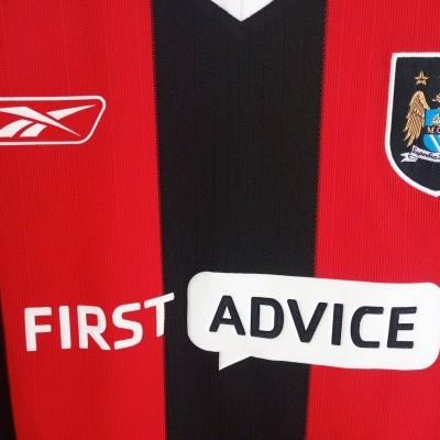"""Manchester City Away Shirt 2003-2004 (XL) """"Perfect"""""""