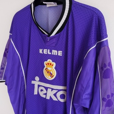 "Real Madrid Away Shirt 1997-1998 (XL) ""Good"""