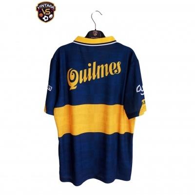 """Retro Boca Juniors Home Shirt 1995-1996 (L) """"Perfect"""""""