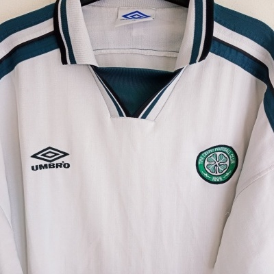 "Celtic FC Training Polo Shirt 1990s (XL) ""Average"""