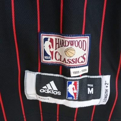 "Chicago Bulls NBA Jersey HWC Pinstripe #1 Rose (M) ""Very Good"""