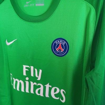 "Paris SG PSG Issue Goalkeeper Shirt 2014-2015 (XL Youths) ""Very Good"""