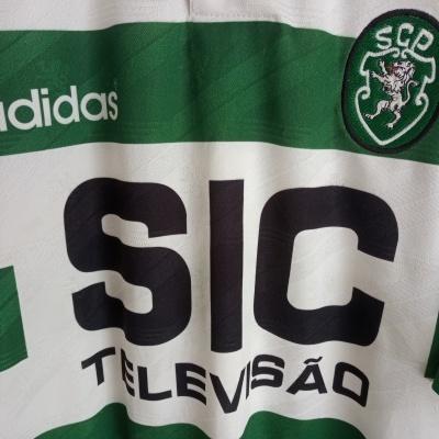 """Sporting CP Home Shirt 1995-1996 (XL) """"Very Good"""""""