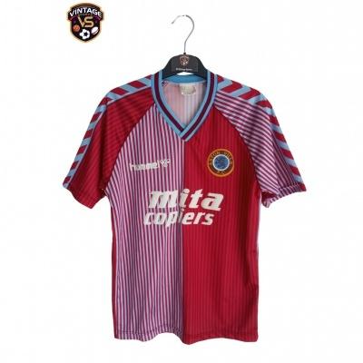 "Aston Villa FC Home Shirt 1987-1989 (S) ""Very Good"""