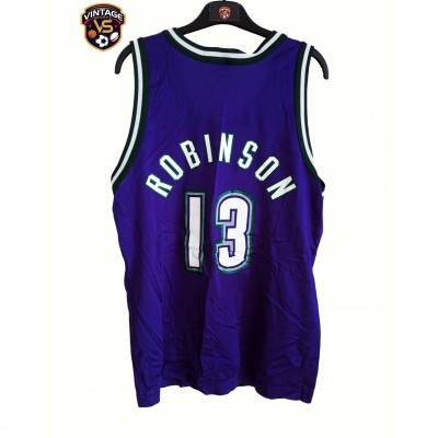 "Milwaukee Bucks NBA Shirt #13 Robinson (40) ""Very Good"""