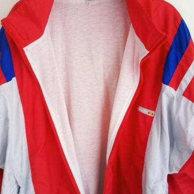 """Vintage Track Top Jacket Ellesse Red Shell Suit (XL) """"Good"""""""