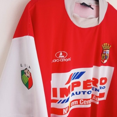 "SC Braga Home Shirt 2002-2003 (M) ""Average"""