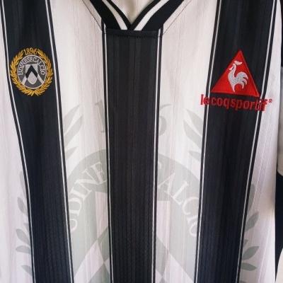 "Udinese Calcio Home Shirt 2002-2003 (XL) ""Very Good"""