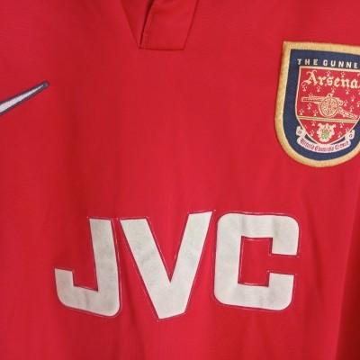 "Arsenal FC Home Shirt 1998-2000 (M) ""Average"""