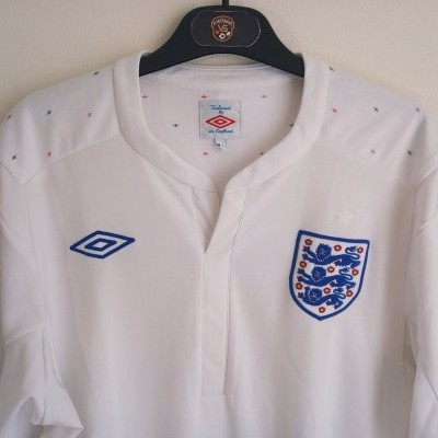 "England Home Shirt 2010-2012 (L) ""Very Good"""
