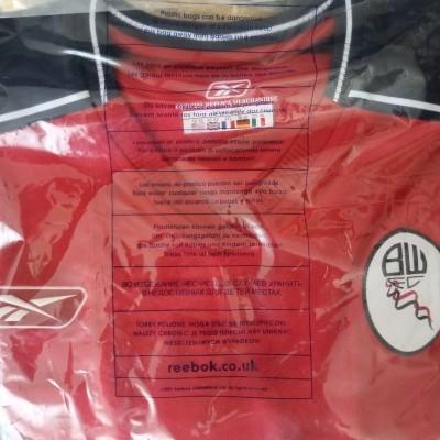 NEW Bolton Wanderers FC Away Shirt 2003-2005 (XXL)