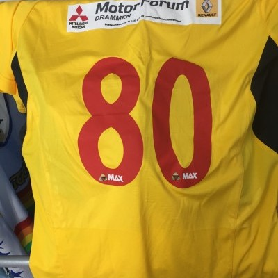 Matchworn Hokksund IL Home Shirt (L) Norway