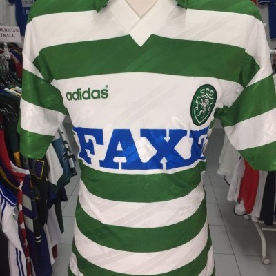 Sporting CP Home Shirt 1993-94 (L)